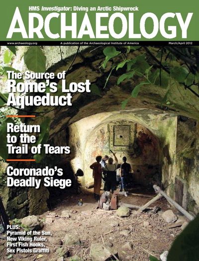Archaeology Magazine March/April 2012