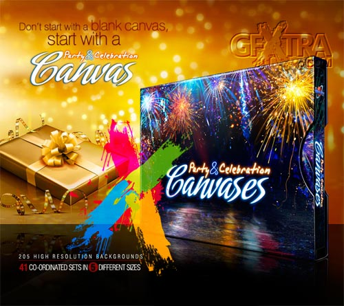 Party & Celebration Canvases 205xJPGs