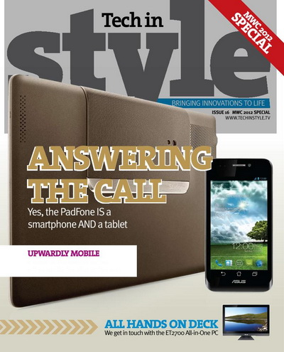 Tech in Style issue 16 MWC 2012