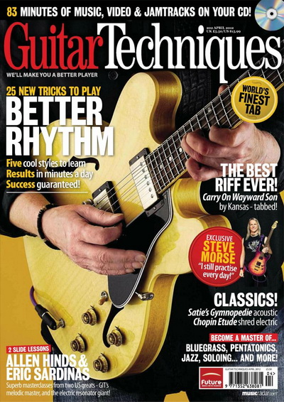 Guitar Techniques - April 2012 UK