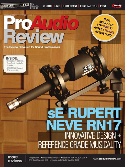 ProAudio Review - February 2012