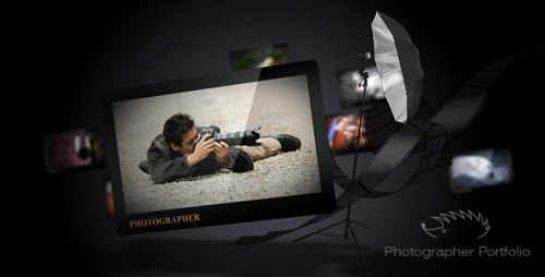 Photographer Portfolio - Project for After Effects (VideoHive)