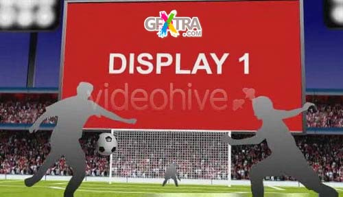 Videohive After Effects Project - Soccer Promo 3D Scene