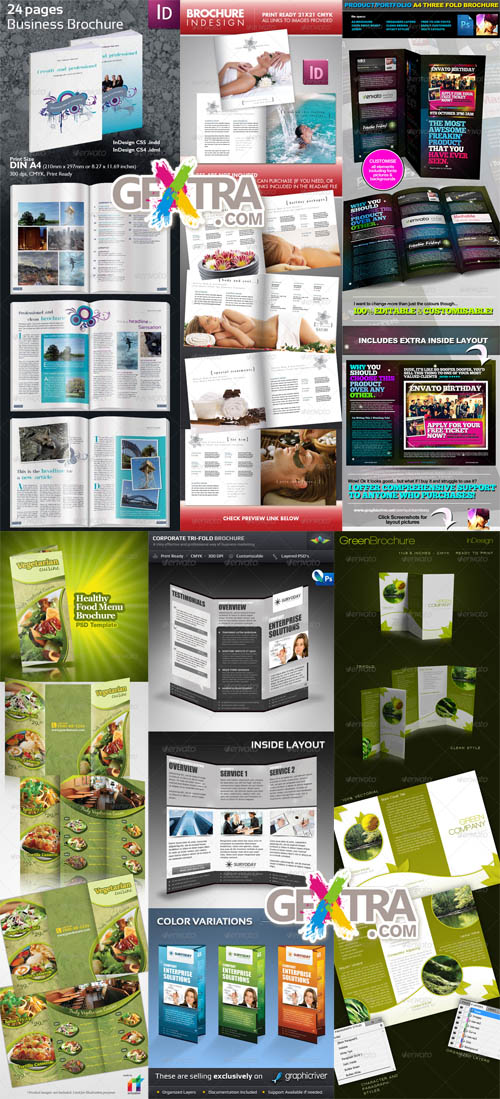 GraphicRiver - Brochure Templates Pack 1