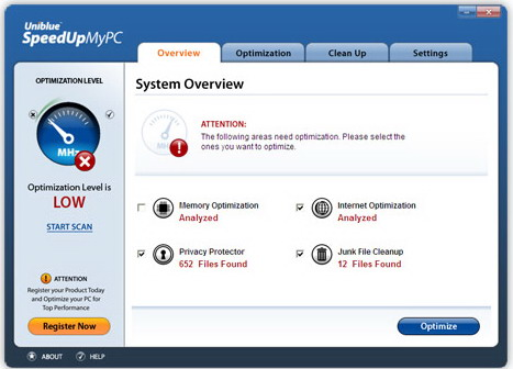 Related to Uniblue SpeedUpMyPC 2013 version 5.3.4.0 Multilingual