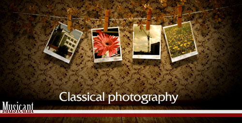 Classical Photography - Project for After Effects (Videohive)