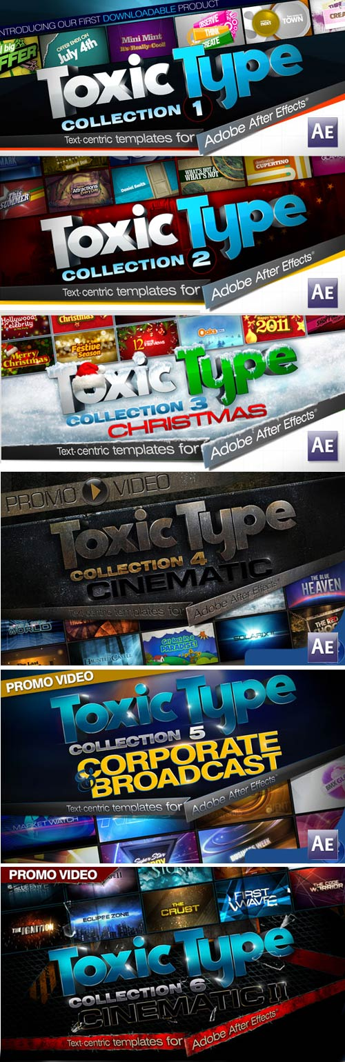 Toxic Type FULL 8 COLLECTIONS for AE