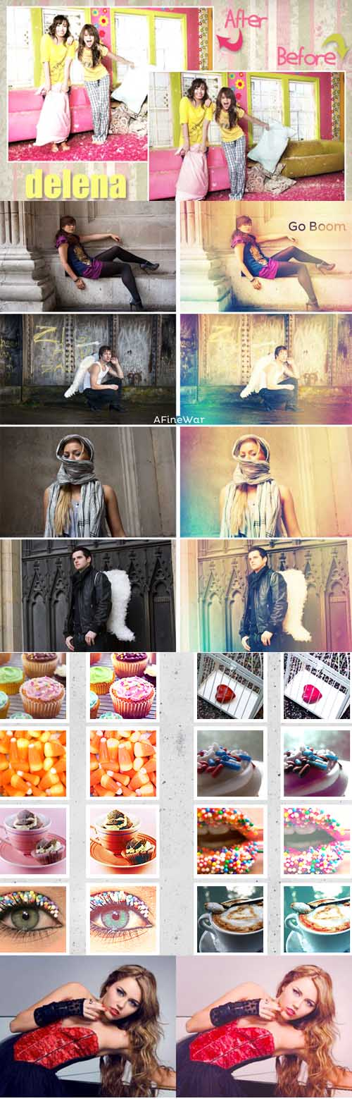 Photoshop Action 2012 pack 466