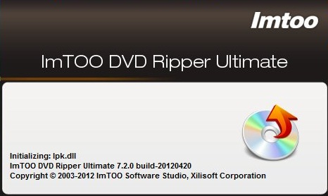 ImTOO DVD Ripper Ultimate 7.2.0 (Build 20120420)