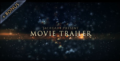 Movie Trailer 03 - Project for After Effects (Videohive)