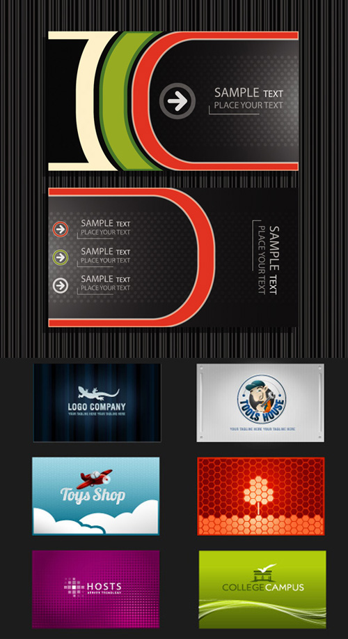 Backgrounds Banners Vector Pack