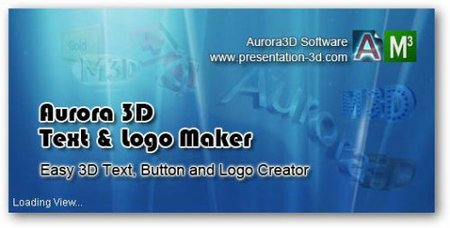 Aurora 3D Text & Logo Maker v12.04.27