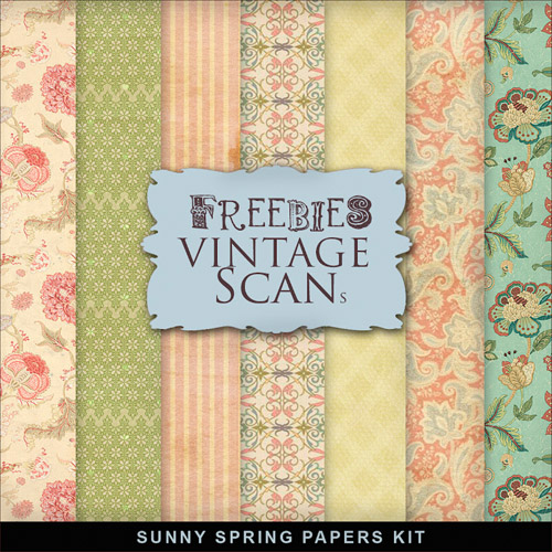 Textures - Sunny Spring - Summer Backgrounds For Creative Design 2012