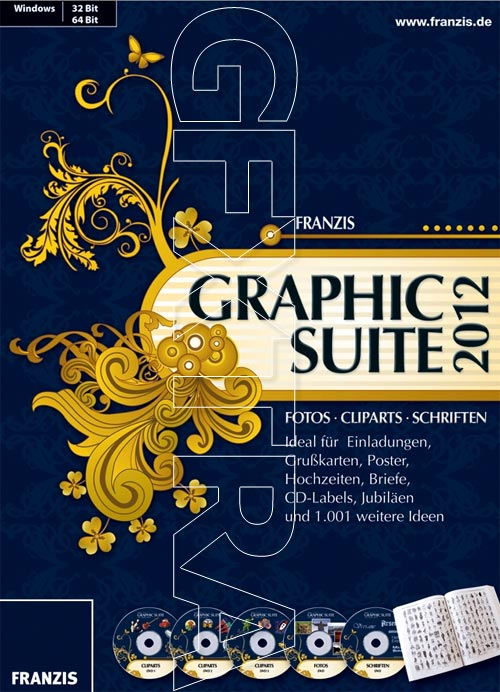 Franzis Graphic Suite 2012, 15GB!