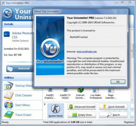 Your Uninstaller! 7.4.2012.05 Datecode 28.04.2012