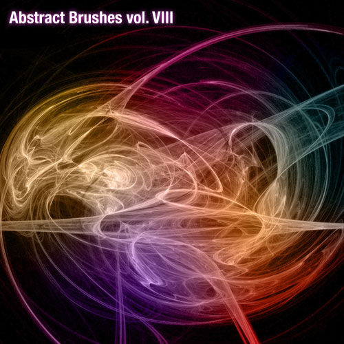 Abstract Brushes Set Volume 8