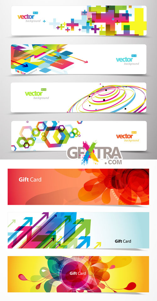 Creative Banners Vector Pack #3
