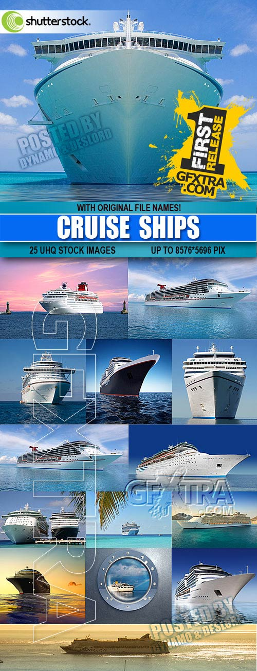 Cruise ships - UHQ Stock Photo