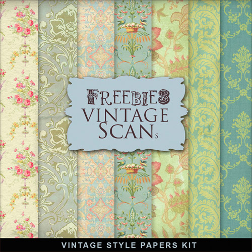 Textures - Old Vintage Backgrounds - Colored Papers For Creative Design 3