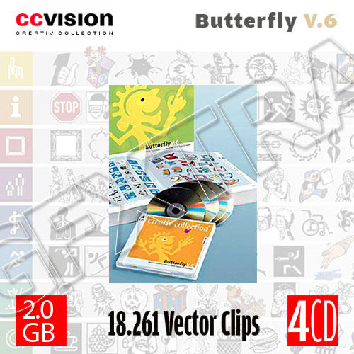 CCVision Creative Collection - Butterfly V.6
