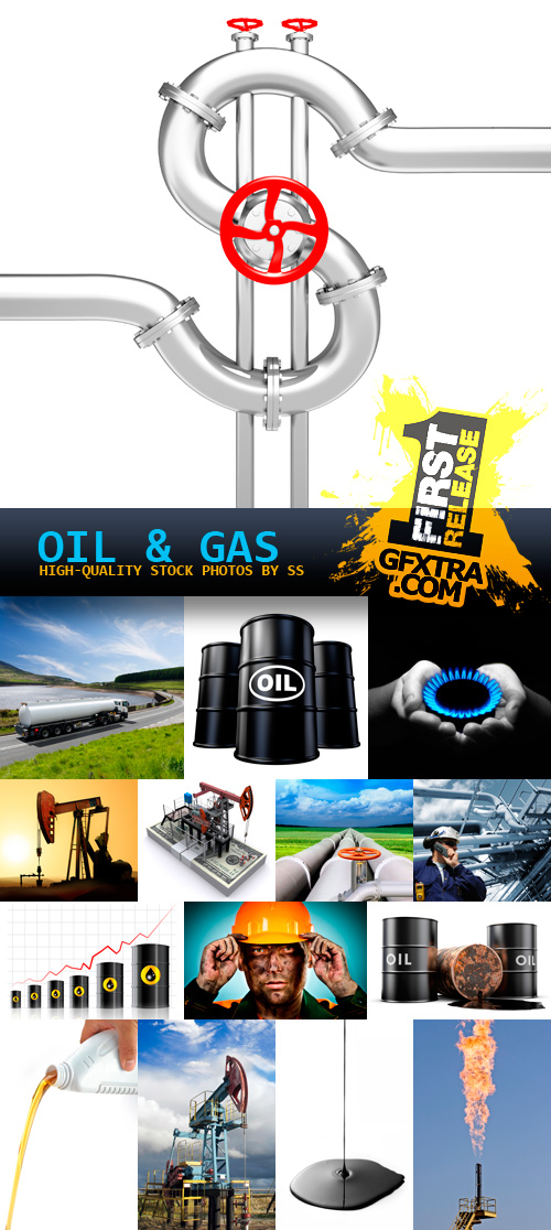 Amazing SS - Oil & Gas, 25xJPGs