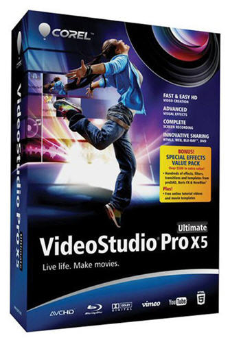 Corel VideoStudio Pro X5 Ultimate SP1 v.15.1.0.34 With 79 (Additions 2013)