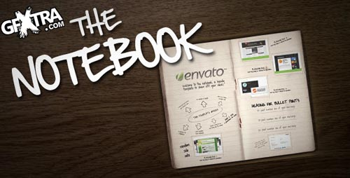 Videohive: The Notebook, AE Project
