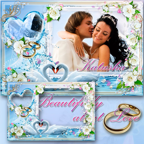 Wedding Photoframe - Beautifully about Love