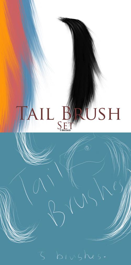 Tail Brushes Set