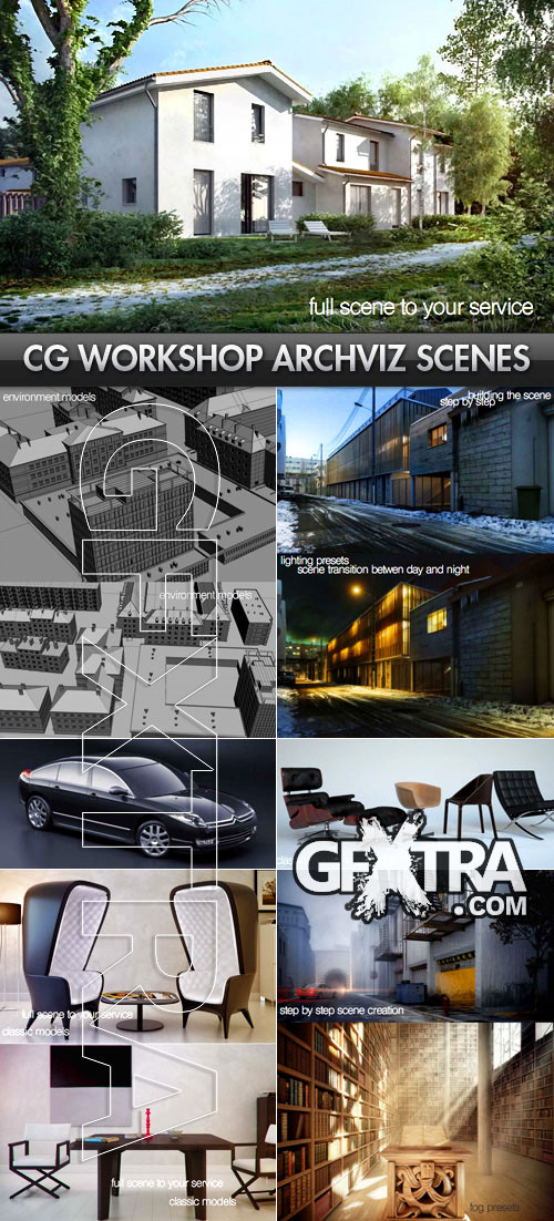 CGWorkshop Interior & Exterior Architectural Visualization Scenes