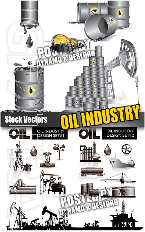 Oil industry - Stock Vectors