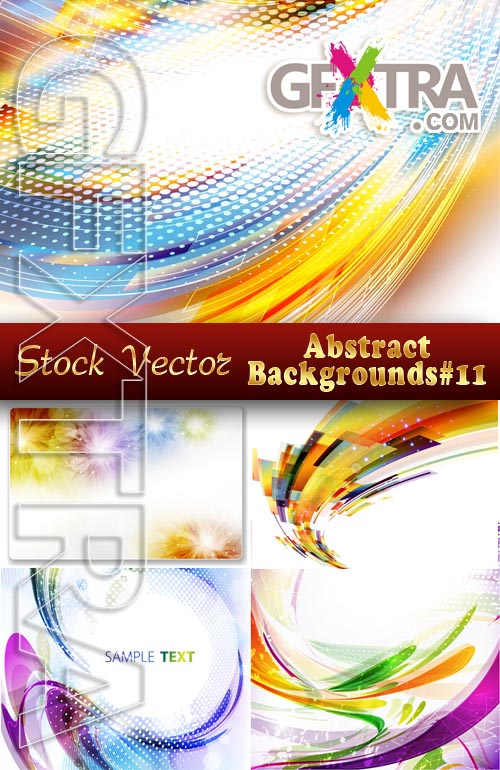 Vector Abstract Backgrounds #11 - Stock Vector