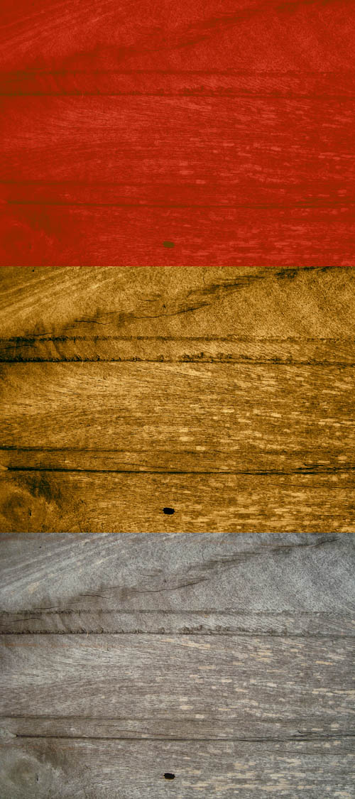 Colored wood textures