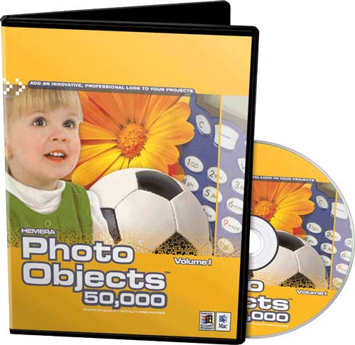 Hemera Photo Objects 50.000 Volume I (DVD)