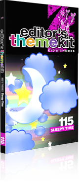 Editor's Themekit 115: Sleepy Time