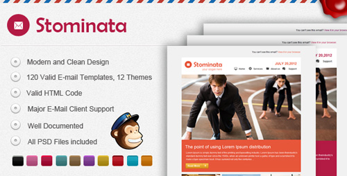 ThemeForest - Stominata E-mail Template - RIP