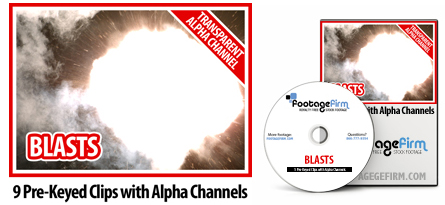 Footage Firm: Blasts, Special Effects with Alpha Channels