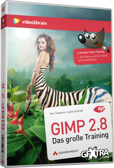 Video2Brain: GIMP 2.8 - The Great Training [German]