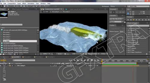 Particle Effects in 3ds Max 2013, French - Elephorm