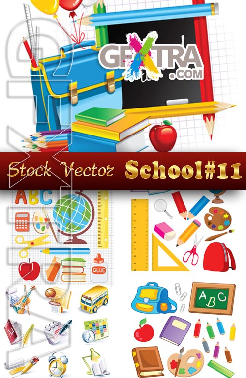 Back to School #11 - Stock Vector