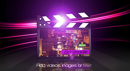 Videohive - Elegant Movie Clapper v2