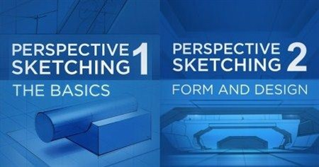 Ctrl+Paint - Perspective Sketching 1 & 2