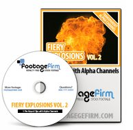 Footage Firm: Fiery Explosions Vol.2, Special Effects with Alpha Channels