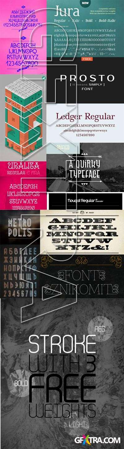 12 New Font Collection