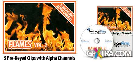 Footage Firm: Flames, Special Effects with Alpha Channels