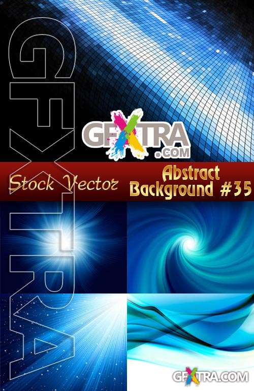 Vector Abstract Backgrounds #35 - Stock Vector