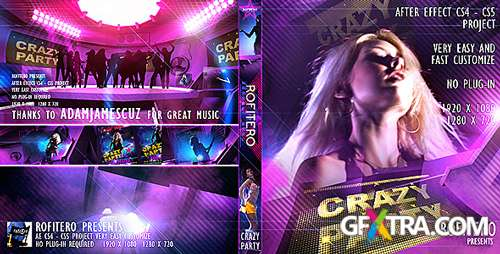 Crazy Party - After Effects Project from Videohive