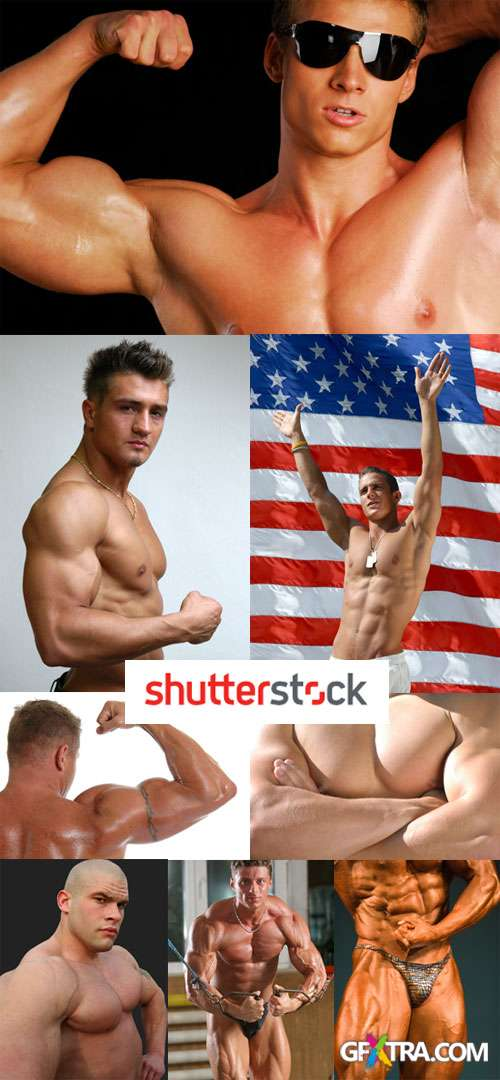 Body Builders, Man 40xJPGs Shutterstock