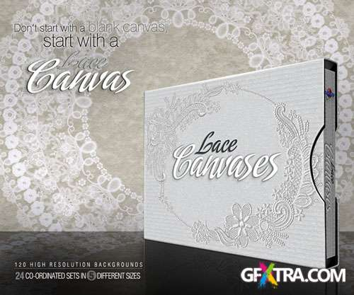 Lace Canvases, 120 UHQ JPGs