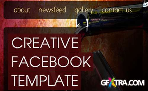 ActiveDen - Creative facebook page template - RETAIL